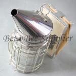 Stainless Steel Leather Bee Smoker