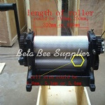 beekeeping equipment Manual beeswax sheet machine 310mm